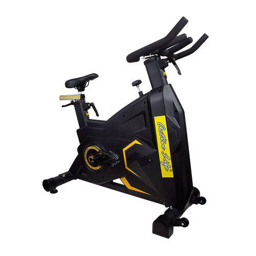 Bicicleta Estacionaria de Crossfit Active Life, volante de inercia de 22.5kg, asiento de facil ajuste, altura regulable