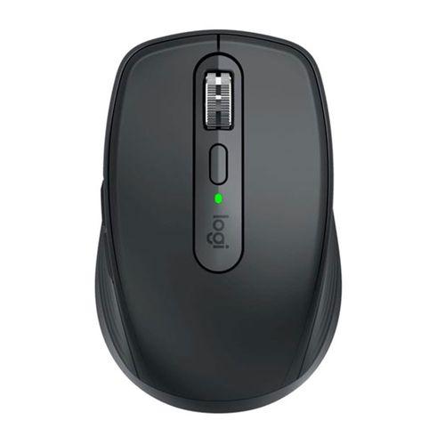 Mouse Inalámbrico MX Anywhere 3, Bluetooth, 6 Botones, batería recargable - Grafito