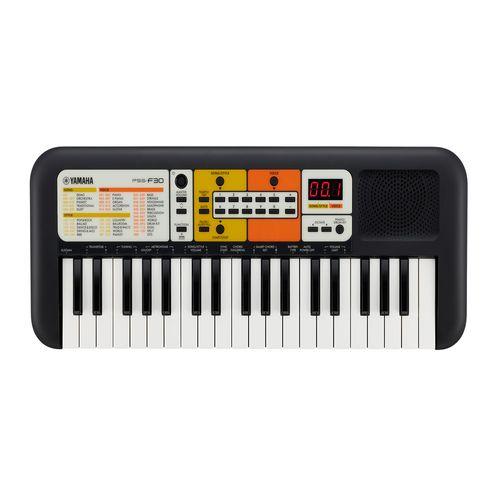 Teclado Portable PSS-E30,49 Voces (instrumentos), 74 efectos de sonido, 30 Canciones incorporadas, Negro