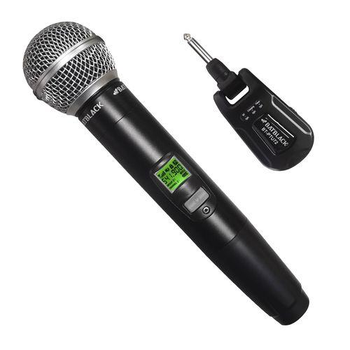 Micrófono inalámbrico Batblack BT-PTU72 cobertura 60 m