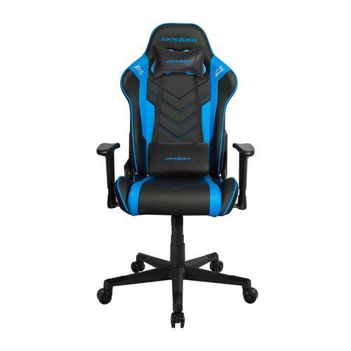 Silla Gaming O Series Color Negro y Azul, Gas Lift Clase 3, soporta 100 kg