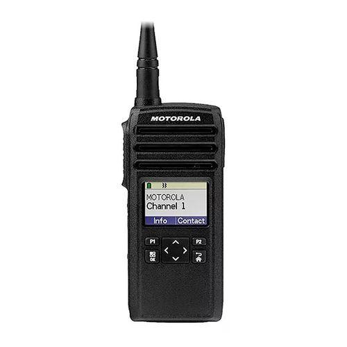 Radio Profesional Dtr720 Digital, 50 Canales, Pantalla Luminosa, Resistencia Ip54