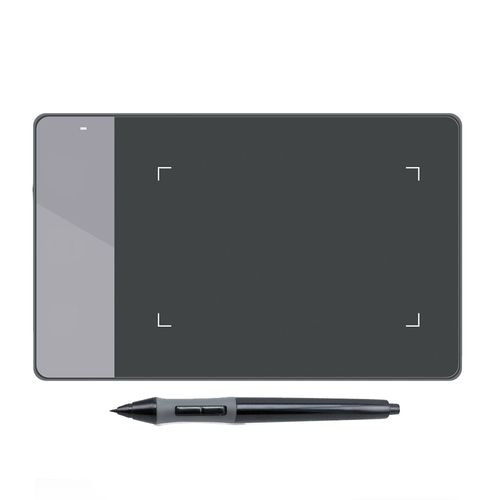 """Tableta gráfica Huion Inspiroy 420, área de trabajo 4 x 2.23"""" + incluye lápiz P68, negro"""