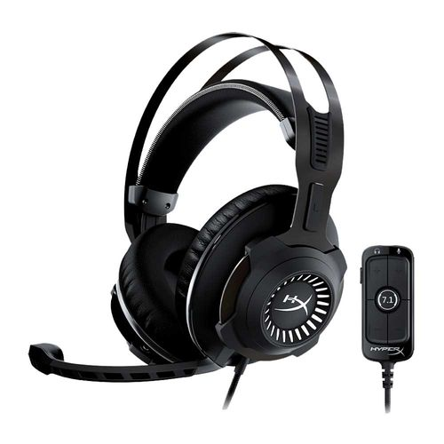 Audífonos Gaming Cloud Revolver Surround Virtual +7.1 compatible con PC y PS4