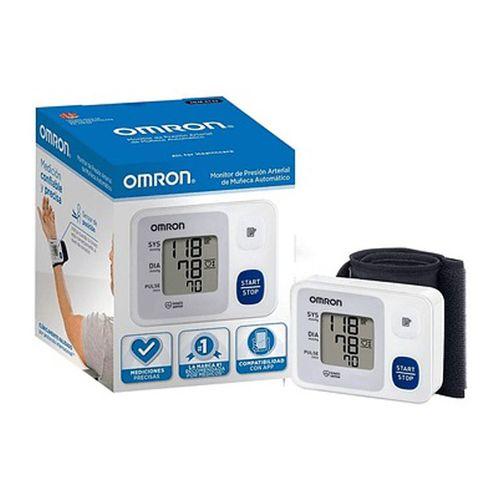 Tensiómetro muñeca Omron Control automático 60 memorias