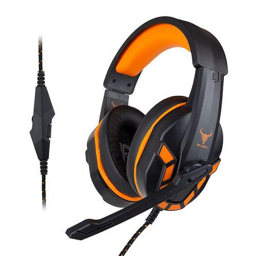 Audífono Gaming con micrófono PS-4 con conexión Jack 3.5mm y compatibilidad con PC, Laptops, Nintendo Switch y PS4