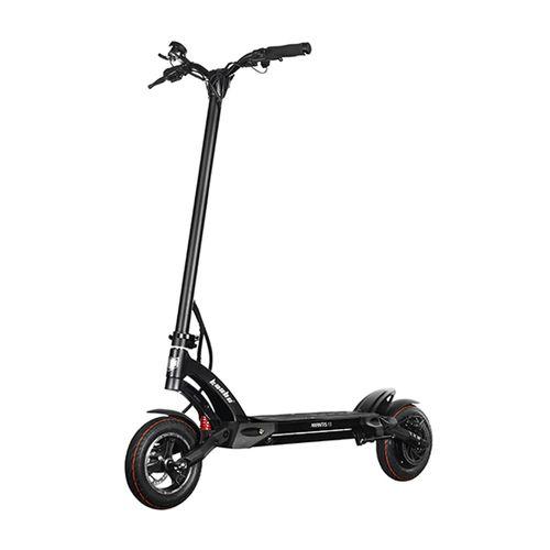 """E-scooter Mantis10, autonomía 55km, vel máx 50km/h, llantas 10"""", Freno de disco+EABS, doble suspensión, aluminio grado aviación T6061, 800W"""
