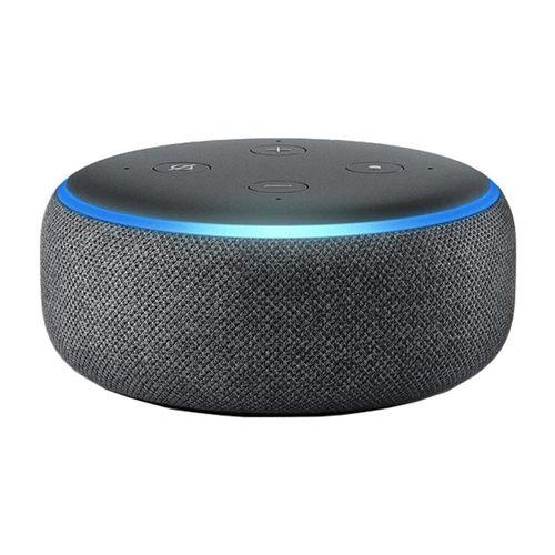 Echo Dot 3ra Generación, Color Negro, Parlante Smart controlado por voz, Alexa