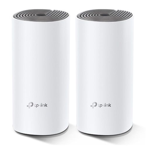 Sistema Wifi Mesh TP-Link Deco E4-3 Ac1200, doble banda, router y acces point, pack x 2