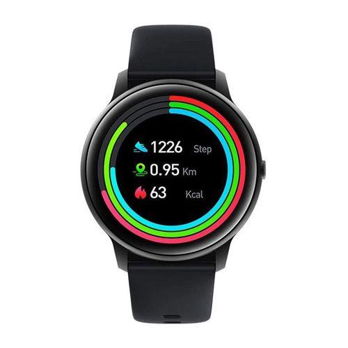 """Smartwatch Xiaomi IMILAB KW66, pantalla de 1.28"""", hasta 30 días de bateria, 13 modos deportivos, protección IP68 - negro + correa verde"""