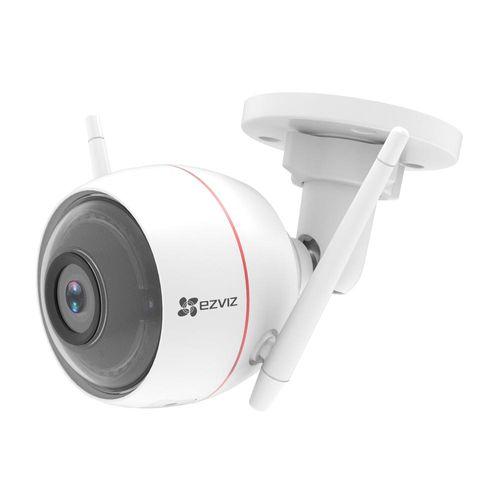 Cámara Wifi C3W para Exteriores Full HD 1080P, Cuenta con Luz y Sirena, Soporta Micro SD hasta 128G, IP66, IR hasta 30mts.