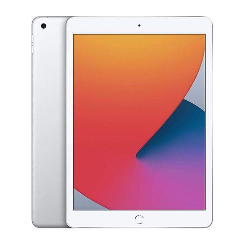 """Tablet iPad, pantalla 10.2"""", cámara principal 1.2MP, frontal 8MP, almacenamiento 32GB - silver"""
