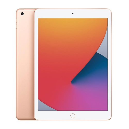 "Tablet iPad, pantalla 10.2"", cámara principal 1.2MP, frontal 8MP, almacenamiento 128GB - gold"