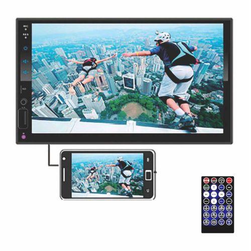 "Autoradio Pantalla Full Táctil HD 7"" Mirrorlink Bluetooth USB 50W x 4"