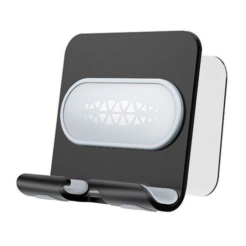 Soporte de celular para escritorio Jetion con clip de pared, negro