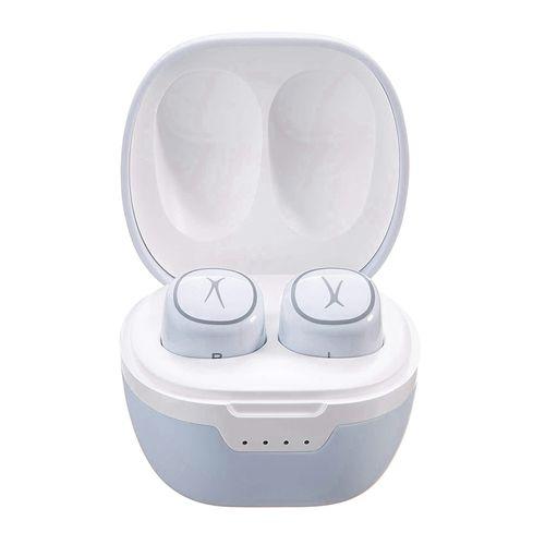 Audífonos Bluetooth True Wireless NANOPODS, 4H de batería, controles táctiles, estuche de carga - blanco