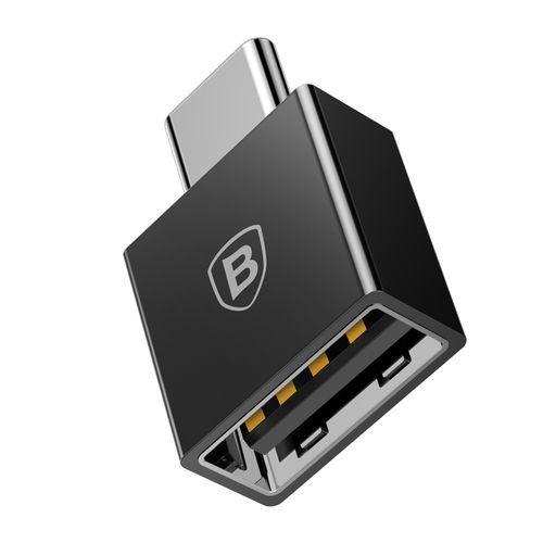 Adaptador USB a Tipo C OTG - negro