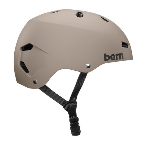 Casco Bern Macon L carcasa ABS, espuma EPS, 57-59 cm, arena mate