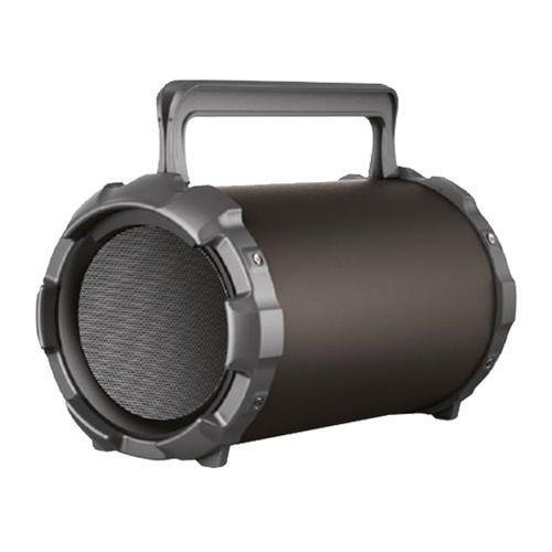 Parlante bluetooth S-28 con Subwoofer función karaoke, 2 entradas de micrófono, control de bajos, FM