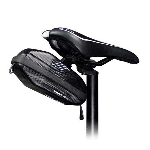 Bolso de bicicleta para asiento Wildman 0.8 litros, carcasa de poliuretano