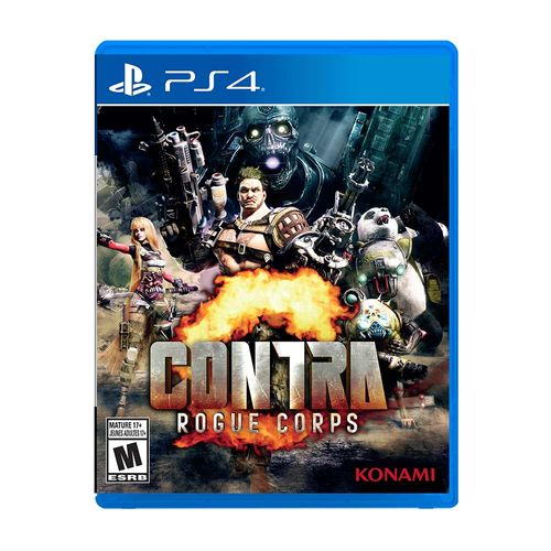 Contra Rogue Corps -PS4