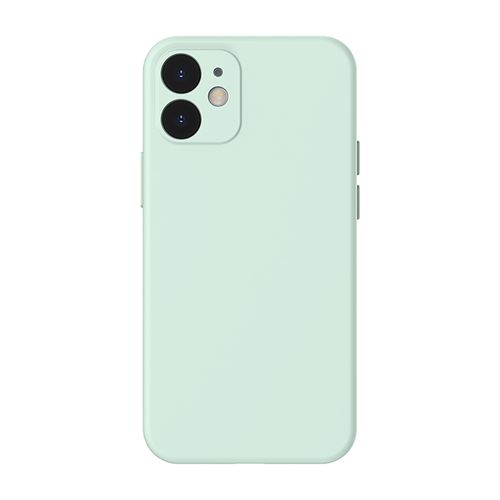 "Case para Iphone 12, 6.1"", gel de silicona, verde"