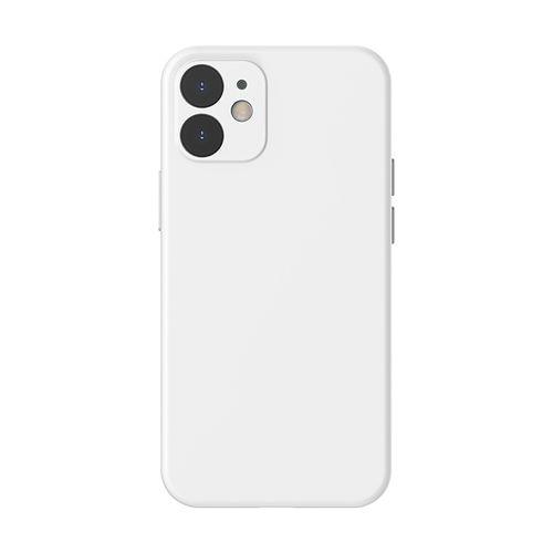 "Case para Iphone 12, 6.1"", gel de silicona, blanco"