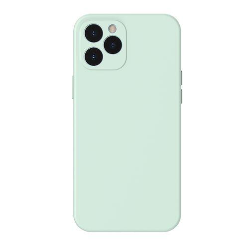 "Case para Iphone 12, 6.7"", gel de silicona, verde"