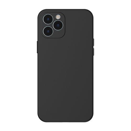 """Case para Iphone 12, 6.7"""", gel de silicona, negro"""