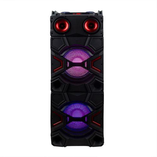 Parlante bluetooth Torre X 1 de 60W puerto USB, SD, BT, luces Led disco, mescladora/ecualizador, incluye control remoto