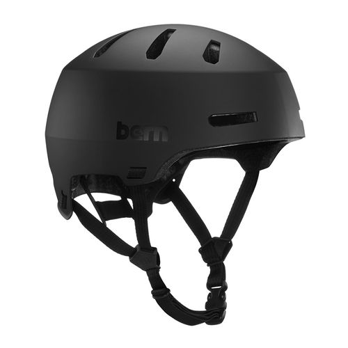 Casco Bern Macon 2.0 MIPS L ajuste EZ FIT, 59-62 cm, negro mate