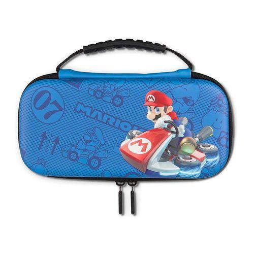 Estuche Power A PWA-A-02279 Mario Kart Edition semi rígido, para Nintendo Switch Lite, azul