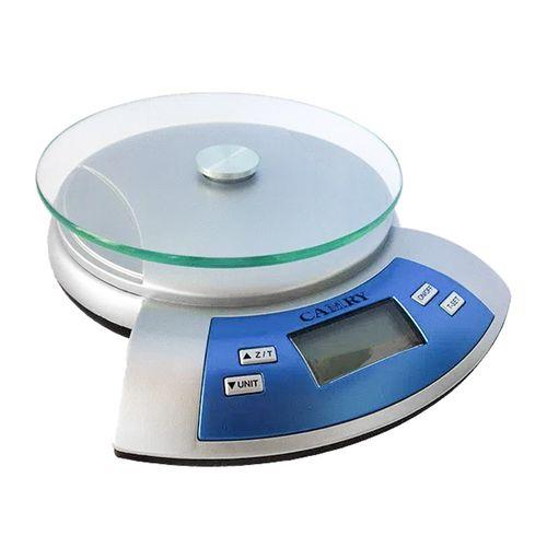 Balanza de cocina Camry vidrio templado, máx. 5 kg