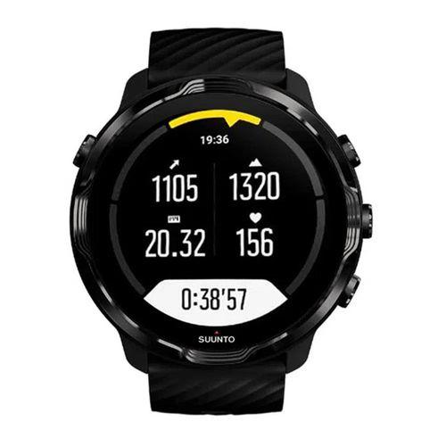 Smartwatch Suunto 7, con Wear OS Google, controla música con el reloj, seguimiento de actividad y navegación por gps , color negro