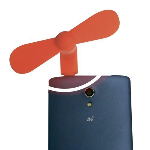 Mini Ventilador Para Smartphone Android Colores