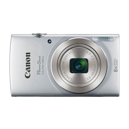 Cámara Canon Powershot ELPH 180 HD 20MP plata