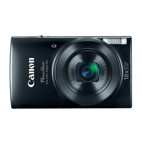 Cámara Canon PowerShot ELPH 190 IS HD 20MP negro