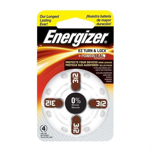 Pilas auditivas Energizer AZ312 x4