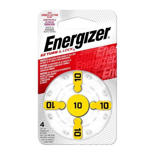Pilas auditivas Energizer AZ10 x4