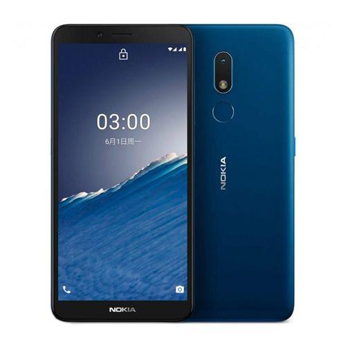 """Celular Nokia C3 cámara principal 8MP, frontal 5MP, 32GB, 2GB ram, 5.99"""", azul"""