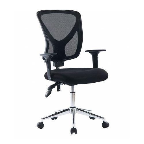 Silla de oficina Proshopper Florencia respaldar regulable altura 9 cm, 120 kg, negro
