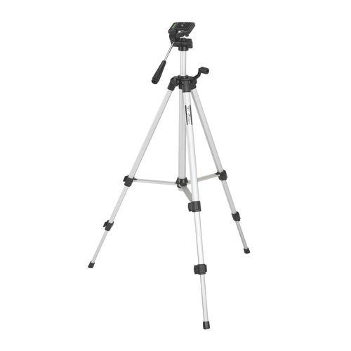 Trípode Roadtrip para cámaras digitales, altura máx. 1.36, cabezal giratorio, aluminio
