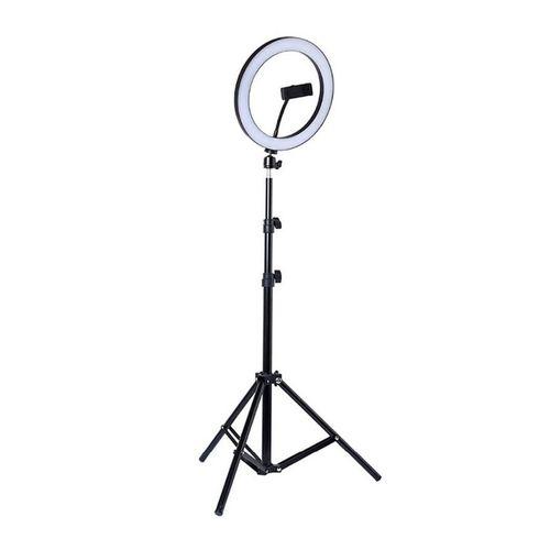 """Aro de luz Jetion 12"""" 3 modos de iluminación + trípode 2 metros"""