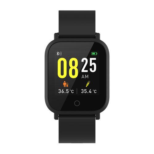 """Smartwatch Roadtrip Multisport resistente al agua, máx. 10 días, modos deportivos, 1.3"""", negro"""