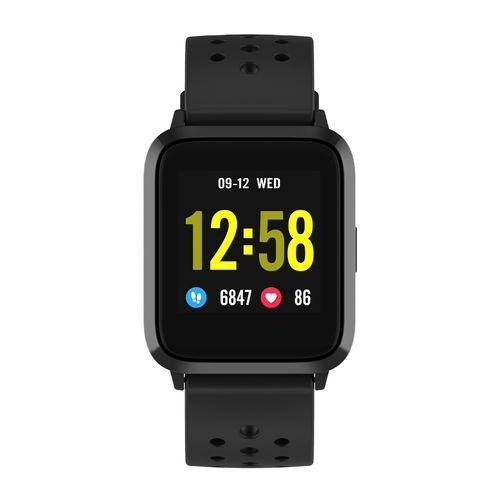 """Smartwatch Roadtrip Multisport gps, pantalla 1.3"""", resistente al agua, modos deportivos, apróx. 30 días, negro"""