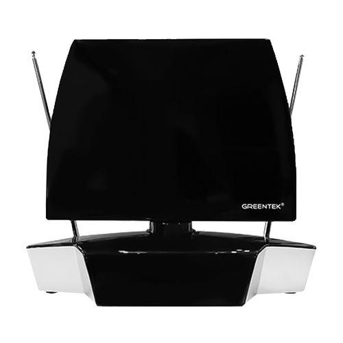 Antena de TV para Interiores Compatible con Señal UHF, VHF, FM, HDTV - Dipolos retractables para la mejor recepción