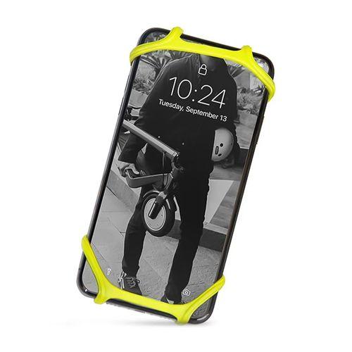 Soporte de celular y power bank Nite Ize ajustable, amarillo