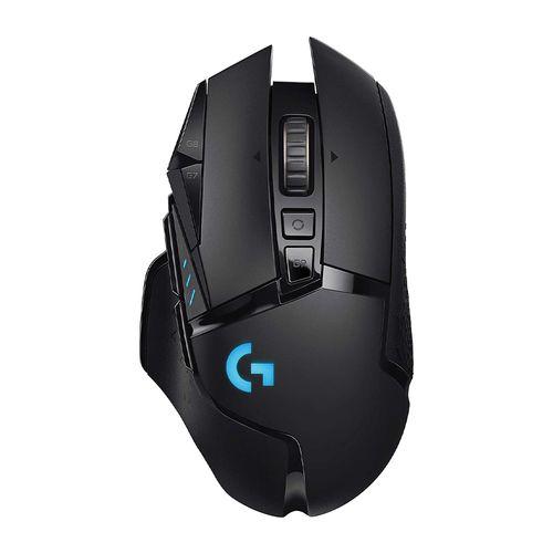 Mouse gaming inalámbrico Logitech G502 Lightspeed, bluetooth, 16000 dpi, 11 botones, recargable, luces RGB