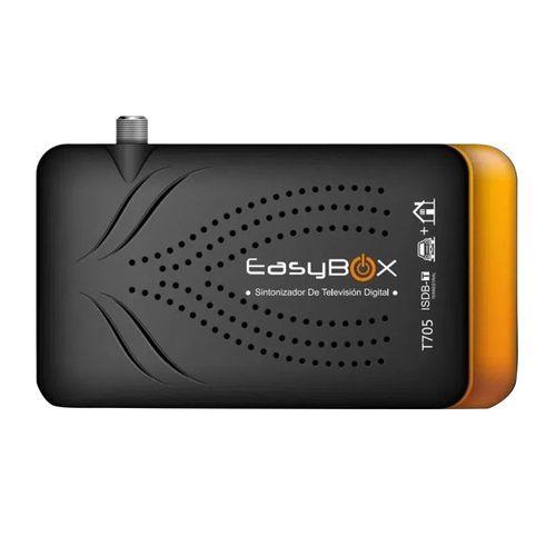 Decodificador y sintonizador de TV digital Easybox Ful HD