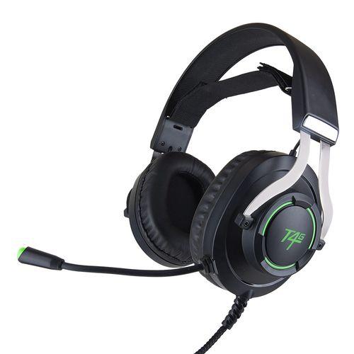 Audífono gaming Teraware conexión usb, 32 ohm, sensibilidad 42 dB, compatible PC y consolas
